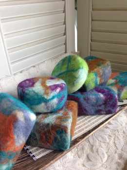 Woolly Bars | Natural Felted Soap