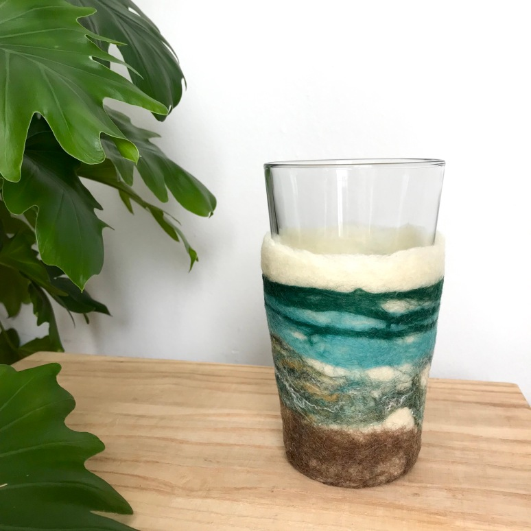 Insulated Handfelted Drinkware