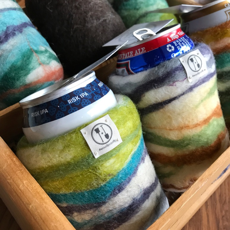 Woolly Coolly Beer Sleeves